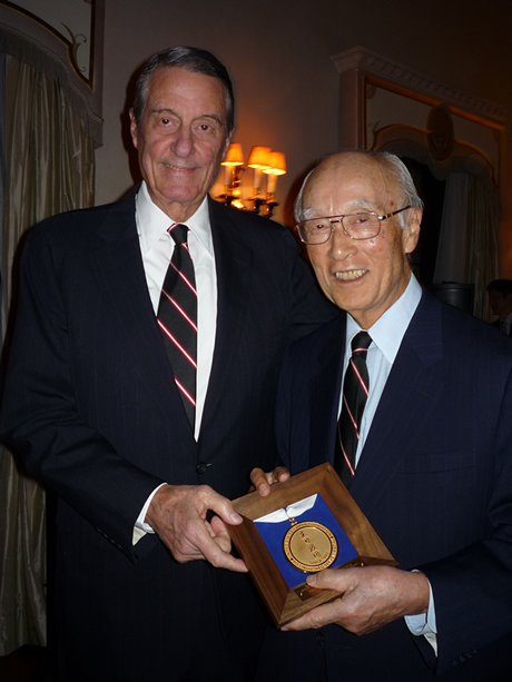 "US-Japan Foundation Honors Mr. Minoru""Ben""Makihara"